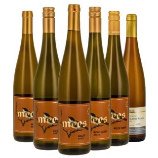 Probierpaket Weißwein Lieblich/Edelsüß - Weingut Mees