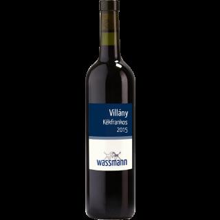 2015 Kékfrankos (Deutsch: Blaufränkisch) DHC Villány Trocken Bio - Weingut Wassmann