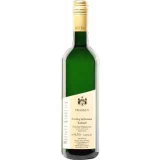 2017 Riesling Kabinett halbtrocken - Weingut Knoblach