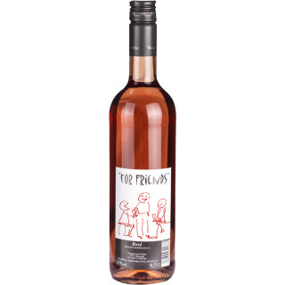 "2018 ""FOR Friends"" Rosé halbtrocken - Weingut Josef Walter"