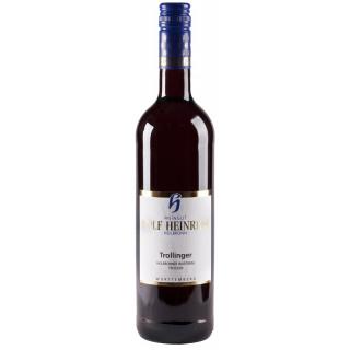2016 Heilbronner Wartberg Trollinger Qualitätswein trocken - Weingut Rolf Heinrich