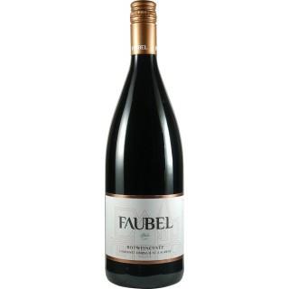 2016 Rotweincuvèe halbtrocken 1L - Weingut Faubel