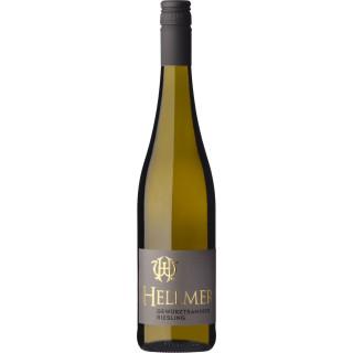 2018 Mußbacher Eselshaut Gewürztraminer & Riesling lieblich - Weingut Hellmer