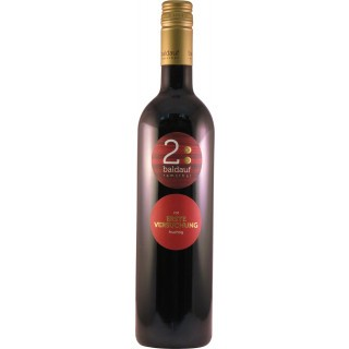 2018 erste versuchung rot fruchtig halbtrocken - Weingut Baldauf