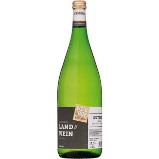GUTEDEL trocken 1,0 L - Wein & Hof Hügelheim