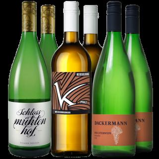 Weißwein Liter Probierpaket