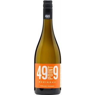 2018 GEISENHEIMER Riesling trocken - Weingut 49point9