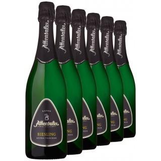 2018 Riesling Sekt b.A. extra trocken (6 Flaschen) - Affentaler Winzer