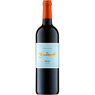 2016 Merlot Rotwein trocken - Weingut Brüssel