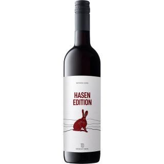 2019 HASEN EDITION Rotwein Cuvée lieblich - Weingut Diehl