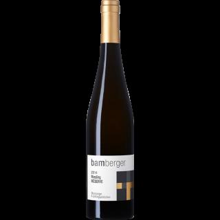 2014 Monzinger Frühlingsplätzchen Riesling Réserve Trocken - Wein- und Sektgut Bamberger