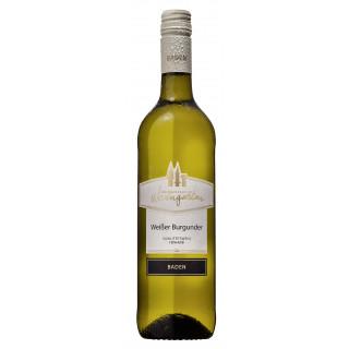 2019 Weißer Burgunder feinherb - Weinmanufaktur Weingarten
