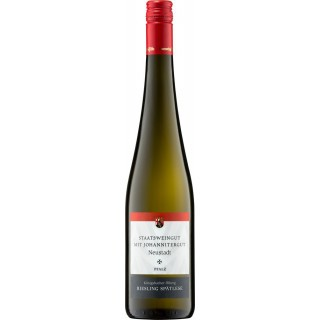 2017 Königsbacher Ölberg Riesling Spätlese süß - Staatsweingut mit Johannitergut