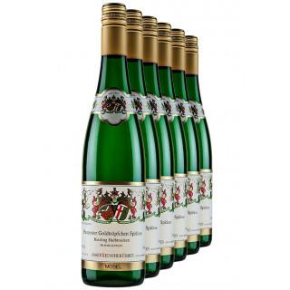 "5 % Rabatt ""Piesporter Goldtröpfchen-Paket"" Riesling SPÄTLESE halbtrocken - Weingut Josef Reuscher Erben"