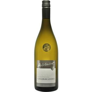 2017 Dettelbacher Sonnenleite Grauer Burgunder Spätlese trocken - Weingut Apfelbacher