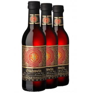 3x Glühwein 250ML (3 Flaschen) - Felsengartenkellerei Besigheim