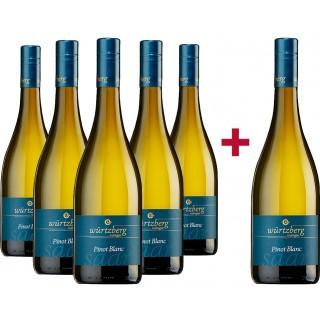 5+1 Paket 2019 Pinot Blanc trocken - Weingut Würtzberg
