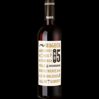 2015 Rotwein Cuvée Fass 5 trocken - Weingut Wageck