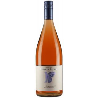 2019 Portugieser Rosé lieblich 1L Bio - Weingut Becker-Heißbühlerhof