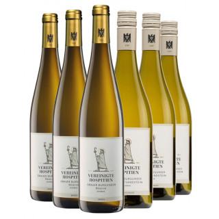 Grauer Burgunder Probierpaket - Weingut Vereinigte Hospitien