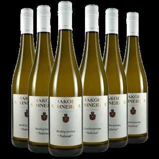 2018 Nahetal Probierpaket - Weingut Jakob Schneider
