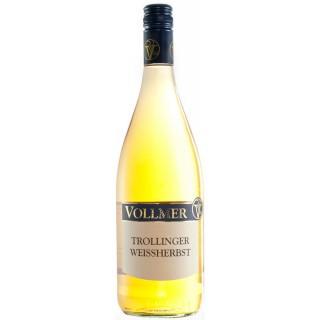 2017 Trollinger Weissherbst Weißherbst trocken 1,0 L - Weingut Roland Vollmer