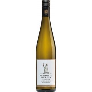2018 Piesporter Goldtröpfchen Riesling Kabinett fruchtig lieblich - Weingut Vereinigte Hospitien