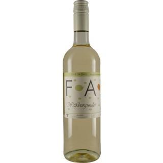 2018 Wallufer Langenstück Weißburgunder QbA Trocken BIO - Weingut Faust