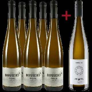 Jungwinzer Riesling Paket  - Weingut Bossert / Gut Eller