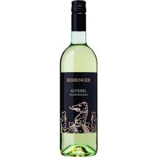 2019 Gutedel halbtrocken - Weingut Behringer