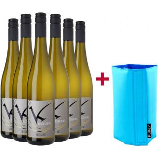 Riesling-Paket + Kühlmanschette - Weingut Kesselring