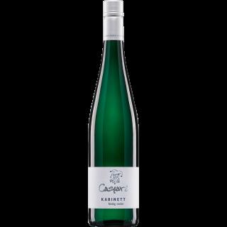 2017 Kabinett Riesling BIO trocken - Weingut Caspari-Kappel