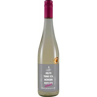 """2018 Chardonnay Spätlese halbtrocken """"Heute trink ich, morgen putz ich"""" - Familienweingut Dechent"""