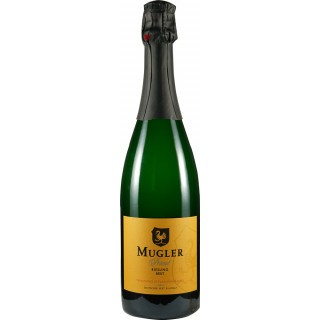 Mugler's Privat Riesling Sekt brut - Weingut Mugler