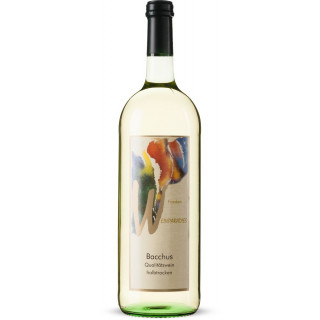 2019 Weinparadies Bacchus QbA halbtrocken 1L - Winzerkeller Iphofen