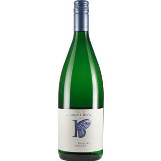 2018 Riesling trocken 1L Bio - Weingut Becker-Heißbühlerhof