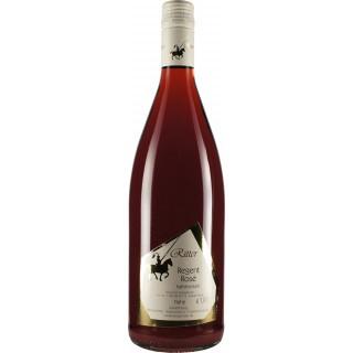2019 Regent Rosé QbA feinherb 1L - Weingut Ritter