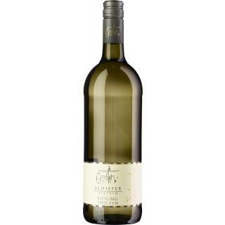 2019 Schiefergestein Riesling trocken 1,0 L - Wein- und Sektgut Heinz Schneider