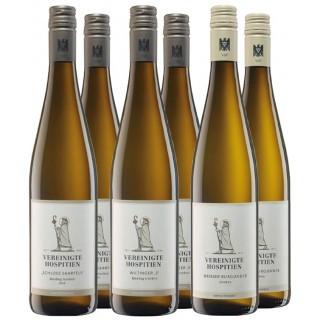 Probierpaket Weißwein Trocken - Vereinigte Hospitien
