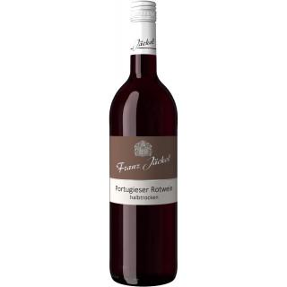 2019 Wallhäuser Pfarrgarten Portugieser halbtrocken - Weingut Franz Jäckel