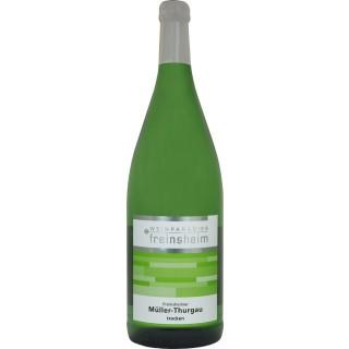 2018 Freinsheimer Müller-Thurgau QbA Trocken (1000 mL) - Weinparadies Freinsheim