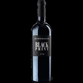 2018 Black Print Rotwein trocken - Weingut Markus Schneider