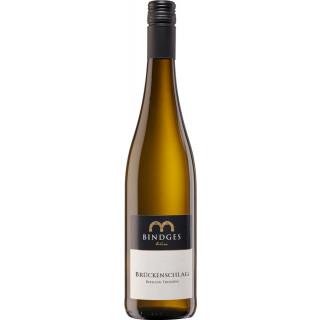 2017 Brückenschlag Riesling trocken - Weingut Bindges