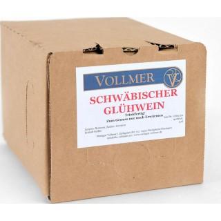 SchwäbischerGlühwein rot 3L Bag-in-Box Weinschlauch 3,0 L - Weingut Roland Vollmer