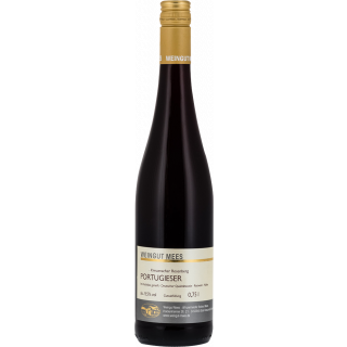 2016 Portugieser Rotwein lieblich süß Kreuznacher Rosenberg Nahe QbA - Weingut Mees