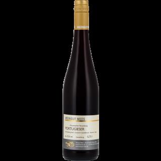 2018 Portugieser Rotwein Gutswein Nahe fruchtig lieblich süß - Weingut Mees
