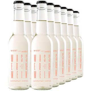 12x Flaschen wabi-sabi Wasser & Wein 0,275L - Weingut werk2