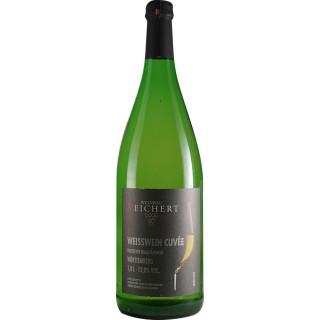 2019 Weisswein Cuvée QbA halbtrocken 1 L - Weinbau Reichert