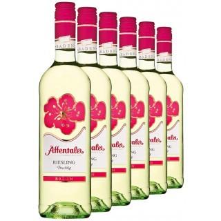 """2019 """"Blütenedition"""" Riesling QbA fruchtig (6 Flaschen) - Affentaler Winzer"""