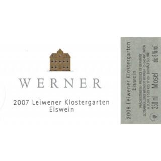 2008 Leiwener Klostergarten Riesling Eiswein 0,375 L - Weingut Werner